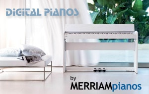 Digital Pianos - by Merriam Music