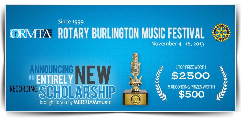 Burlington Recording Scholarship WEB2