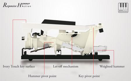 kawai kdp90 digital piano merriam pianos. Black Bedroom Furniture Sets. Home Design Ideas