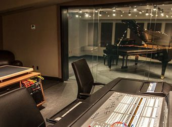 recording studio toronto big control room