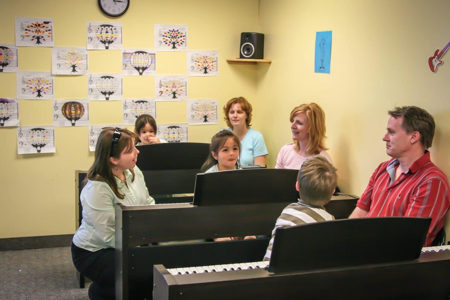 Digital Pianos In Classrooms