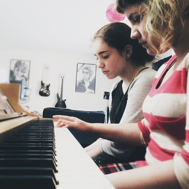home piano practice