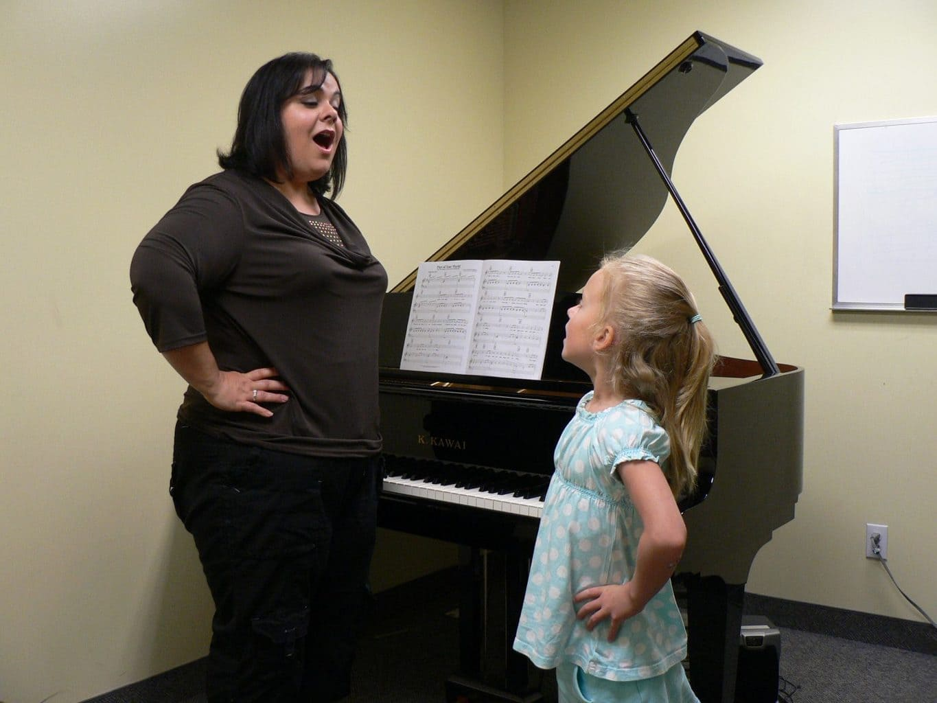 Singing Lessons at Merriam Music