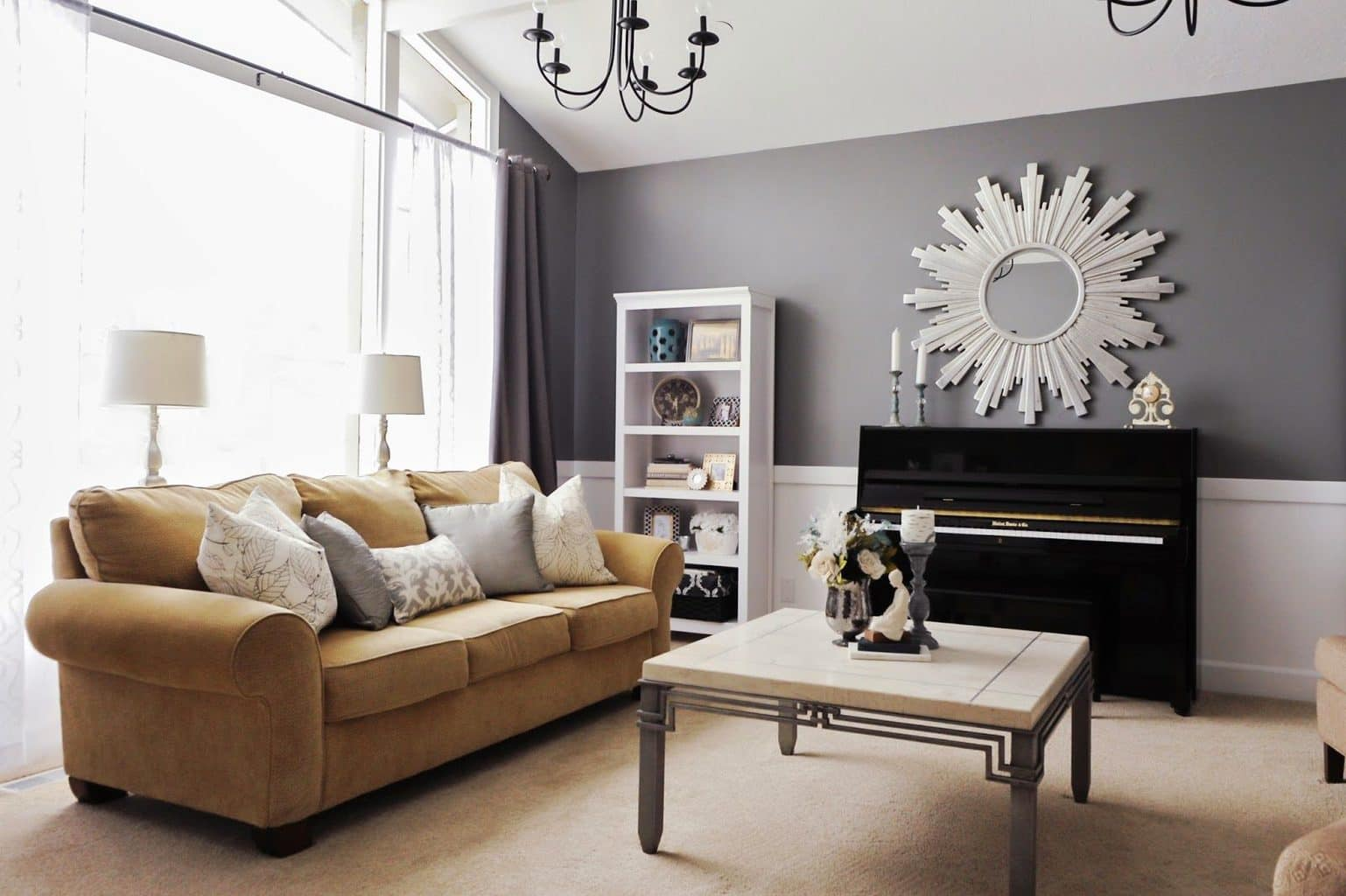 Upright Piano Livingroom
