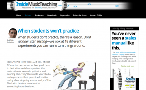 inside music teaching