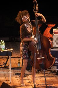 double bassist singer