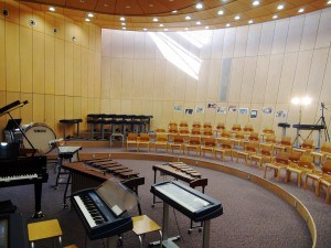 school music room