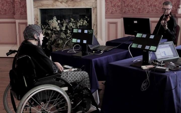 Ground-breaking musical performance by severely motor-impaired people to be premiered at Peninsula Arts Contemporary Music Festival CREDIT: PLYMOUTH UNIVERSITY