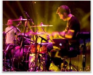adult drummer