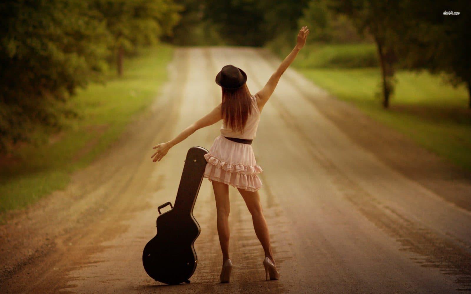 musician happy