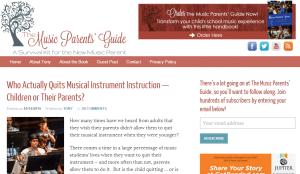 music parents guide