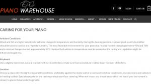 piano warehouse