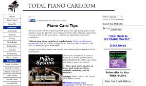 total piano care