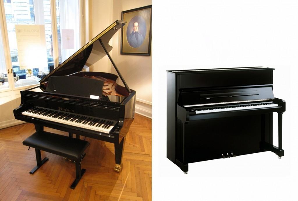 grand piano vs upright piano