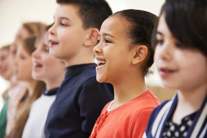 school children choir