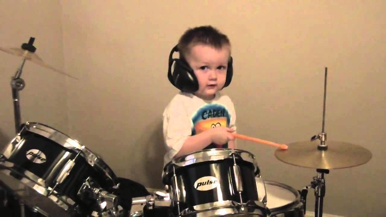 drumming boy