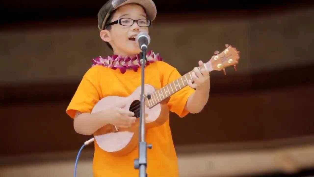 boy performing