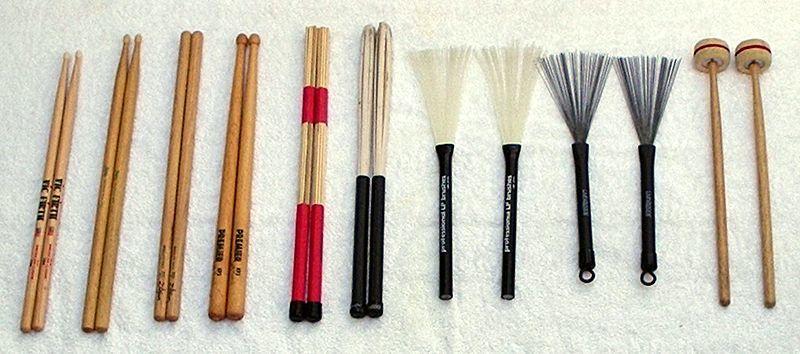 drum sticks various