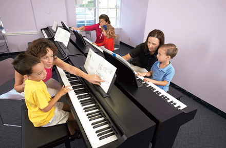 piano teachers and students