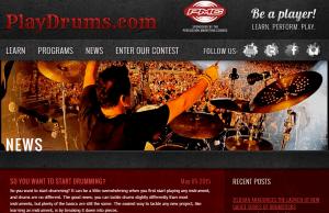 play drums