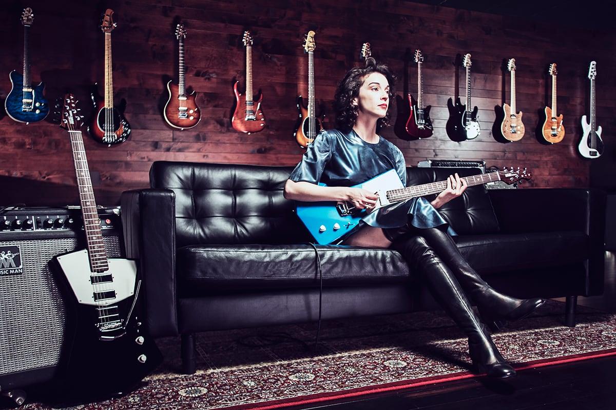 st Vincent guitar