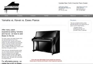 artist pianos
