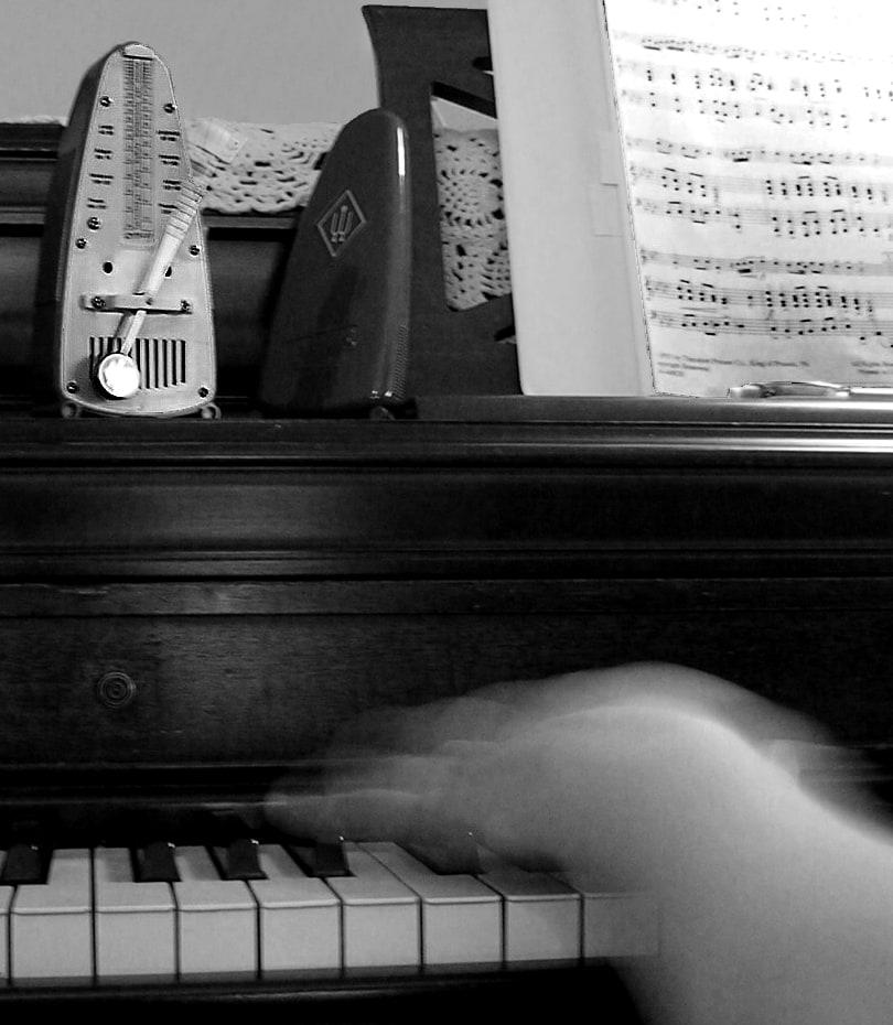 metronome piano