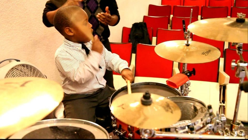 boy drums