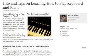 how should i learn piano (art 1)