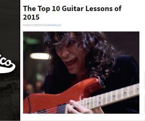 top 10 guitar lessons