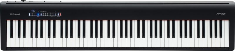 Roland FP 30 Digital Piano - Black
