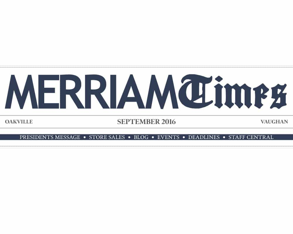 Merriam Times September 2016 Edition