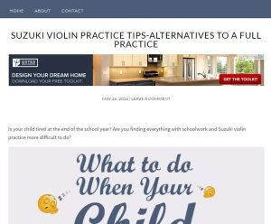 These Tweaks Will Make Painless Violin Practice A Reality