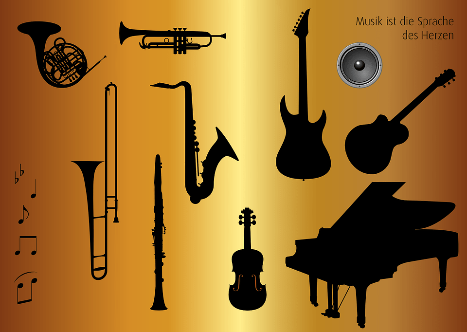 the different instruments
