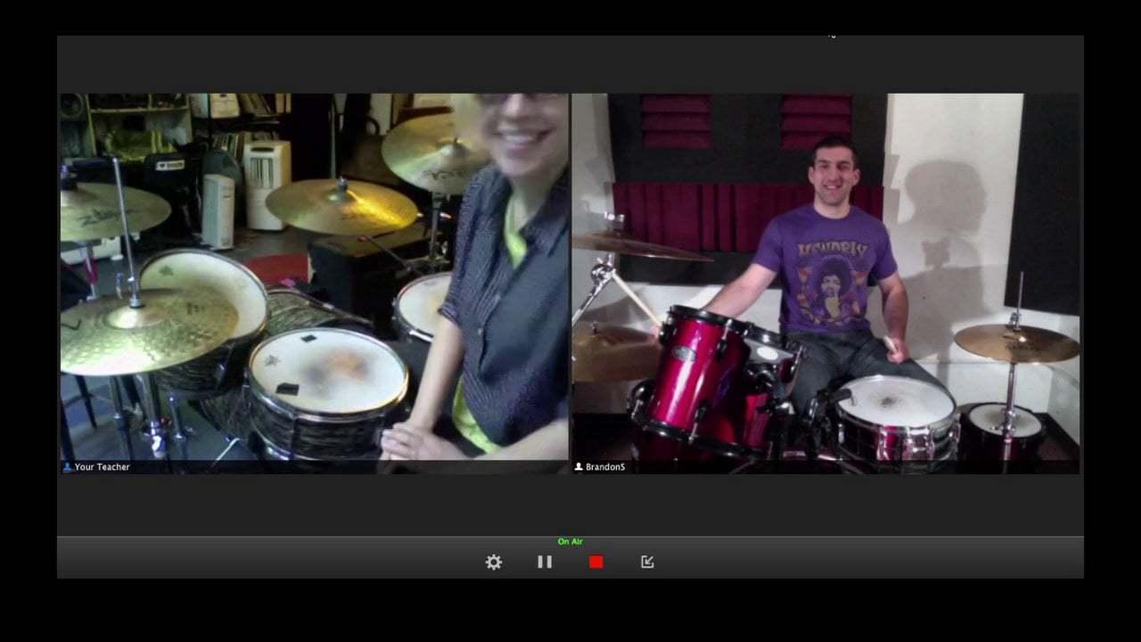 drum lesson online