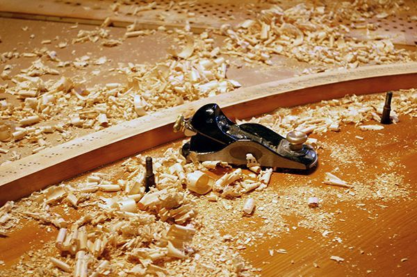 Bechstein Piano Bridge Notching