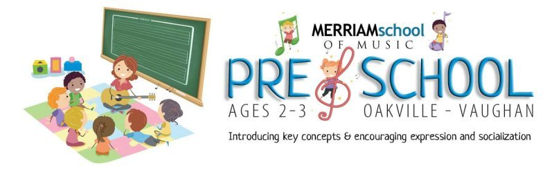 Pre-School Music Program Merriam School of Music