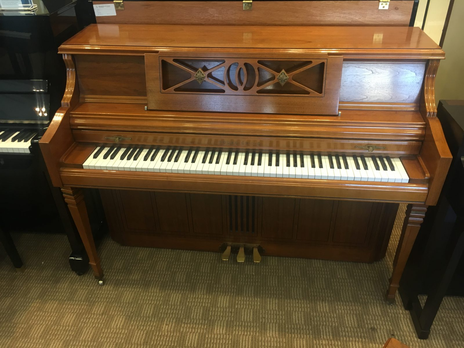 used young chang f 110 upright piano merriam music toronto 39 s top piano store music school. Black Bedroom Furniture Sets. Home Design Ideas