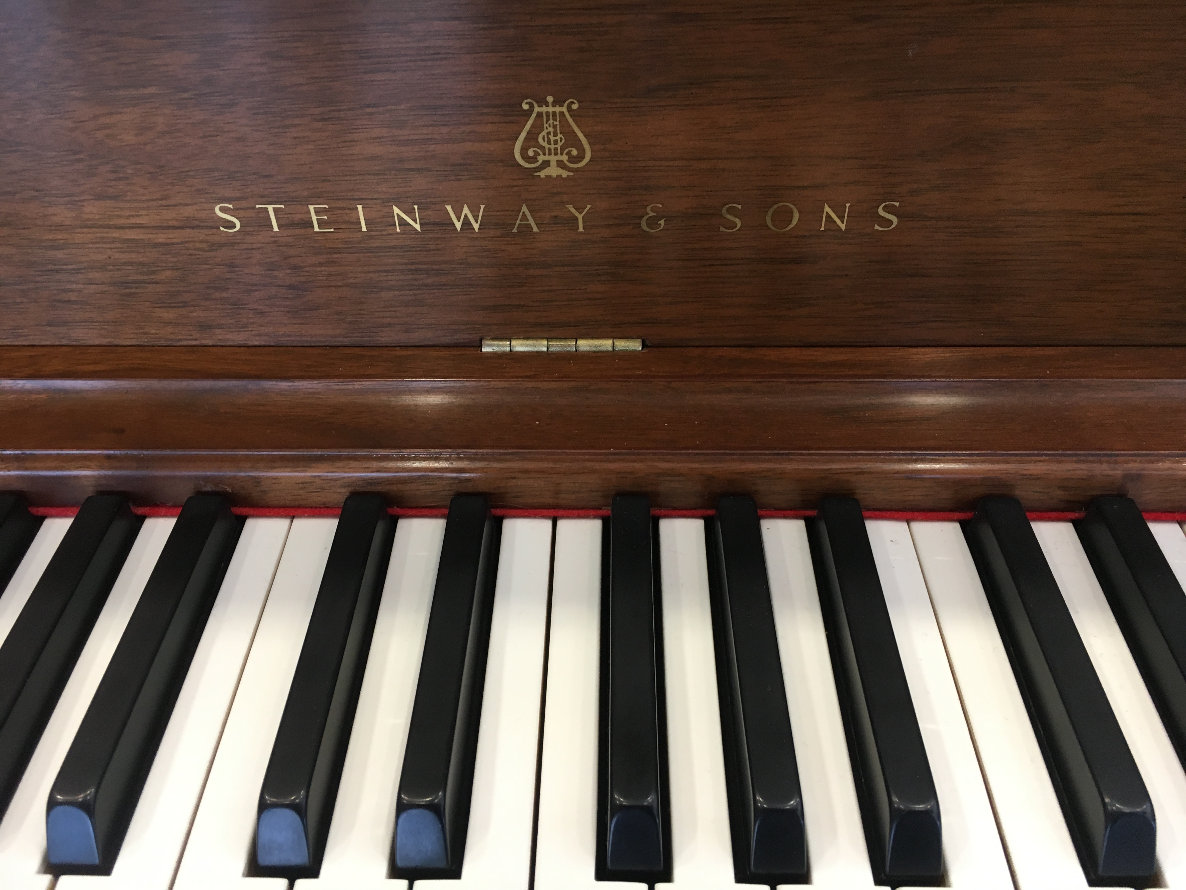 Used Steinway Amp Sons Model 100 Upright Piano Merriam