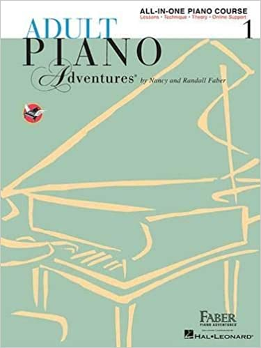 Adult Piano Adventures All-In-One Piano Coursebook 1