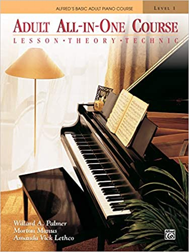 Alfred's Basic Adult Piano Course All-in-One