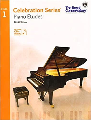 RCM Celebration Series Piano Etudes Level 1