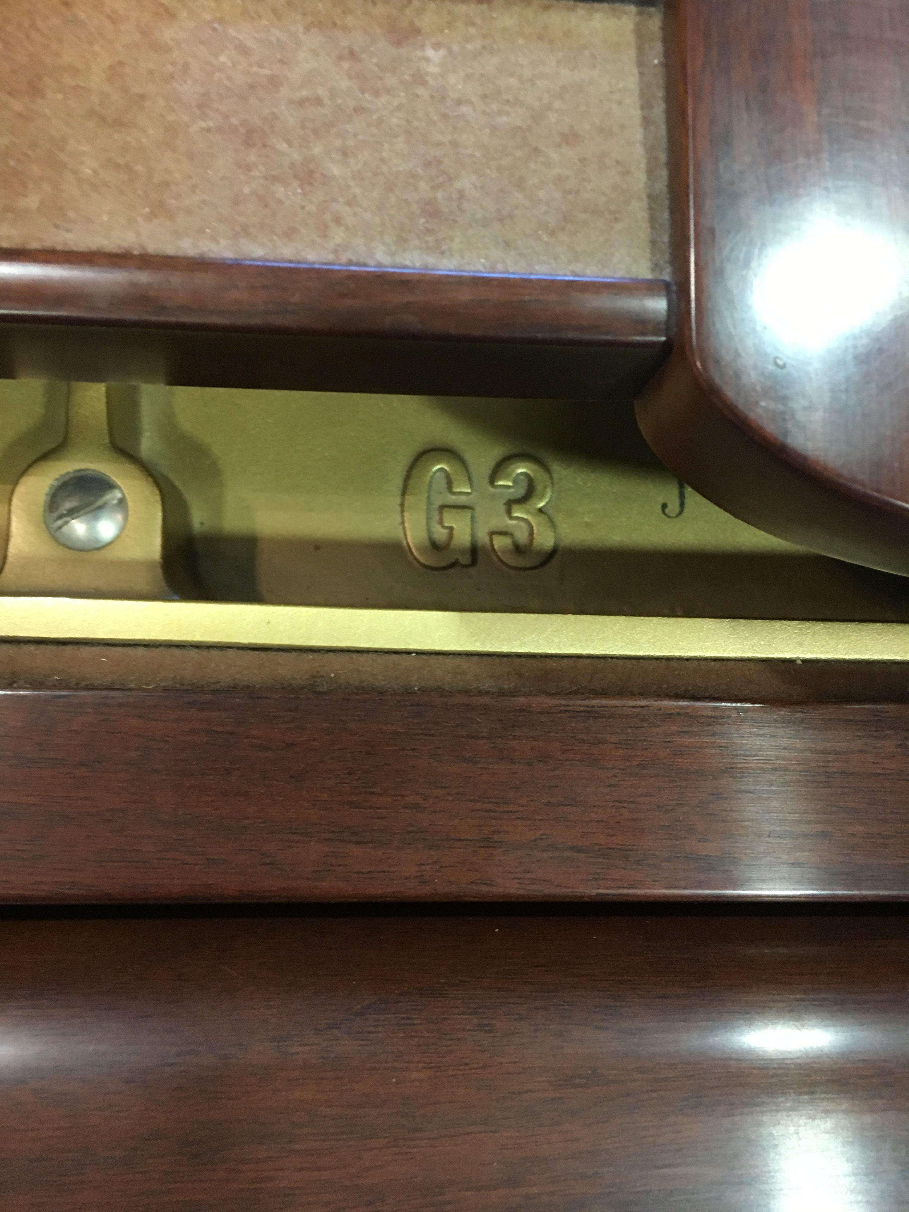 Used Yamaha G3 Grand Piano Walnut Satin Merriam Music
