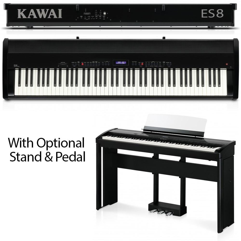 Used Kawai ES8 Portable Digital Piano **RENTAL UNIT SALE**