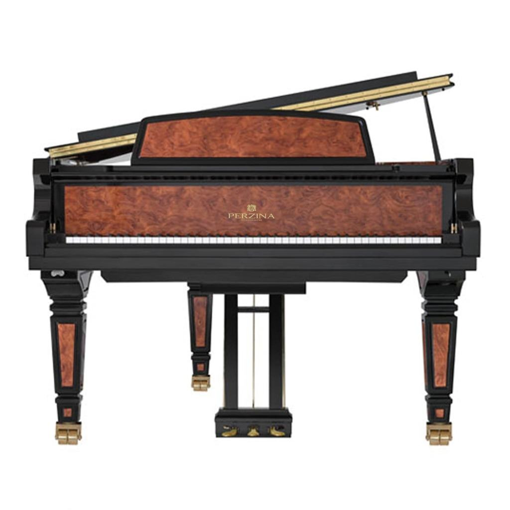 Used Gebr. Perzina 161 Bubinga Grand Piano
