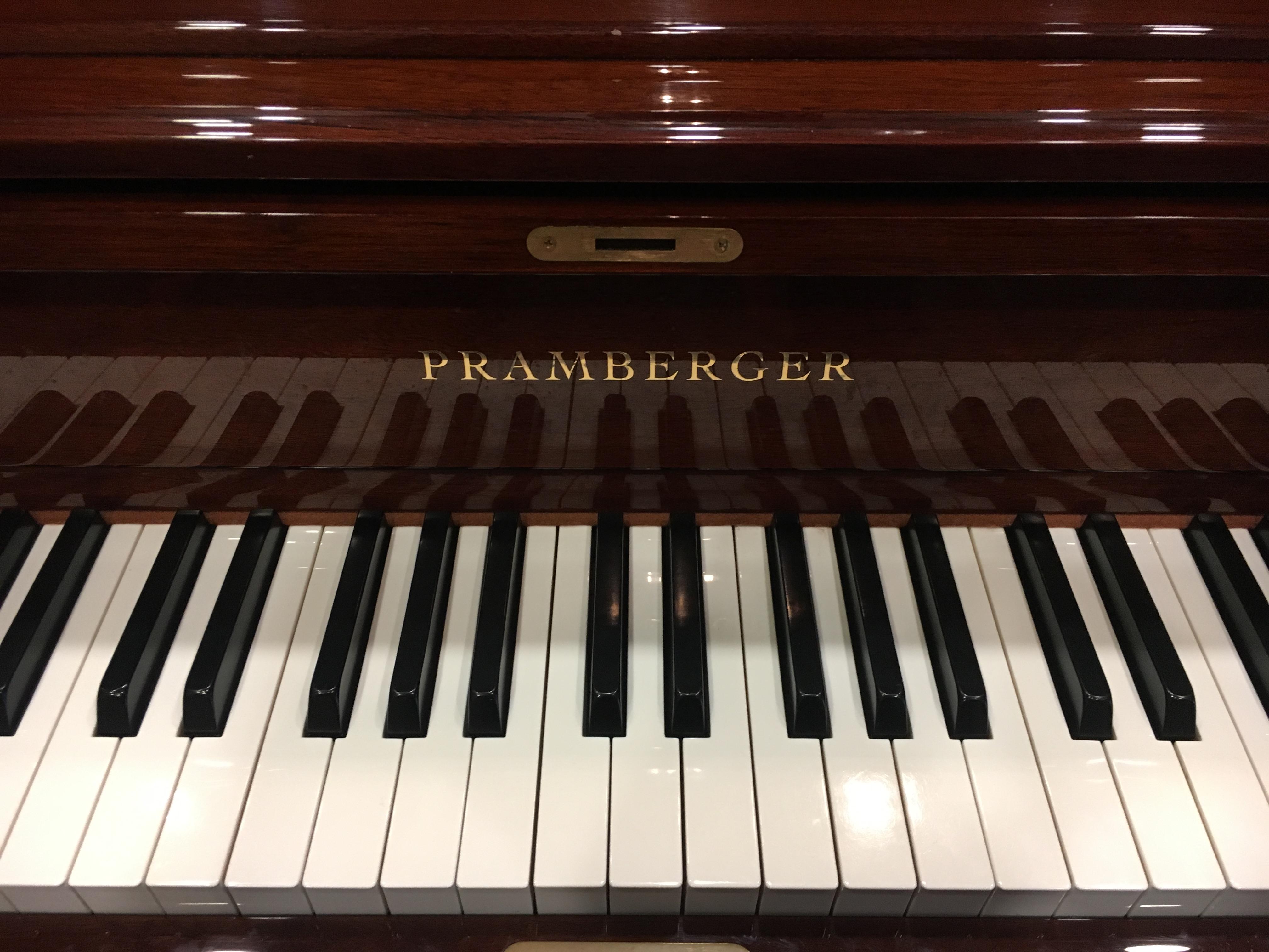 Used Pramberger PU118S Upright Piano - Merriam Music - Toronto's Top Piano  Store & Music School