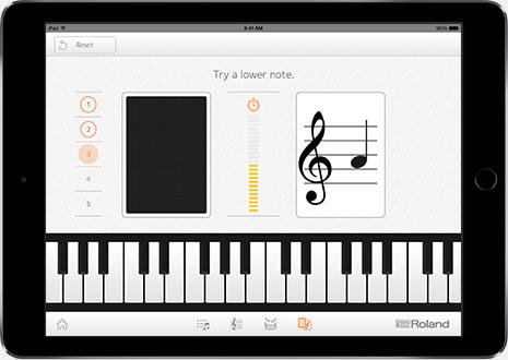 Roland Piano Partner App