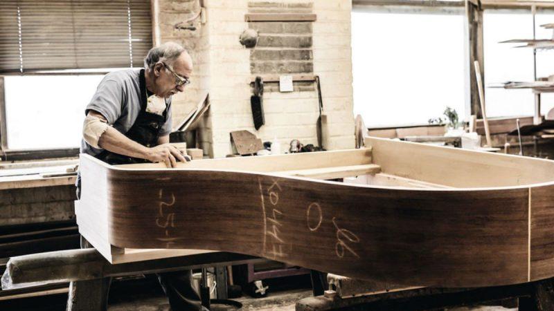 Steinway Hard-rock Maple