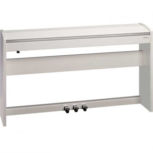 Roland F140r in White with Lid Closed