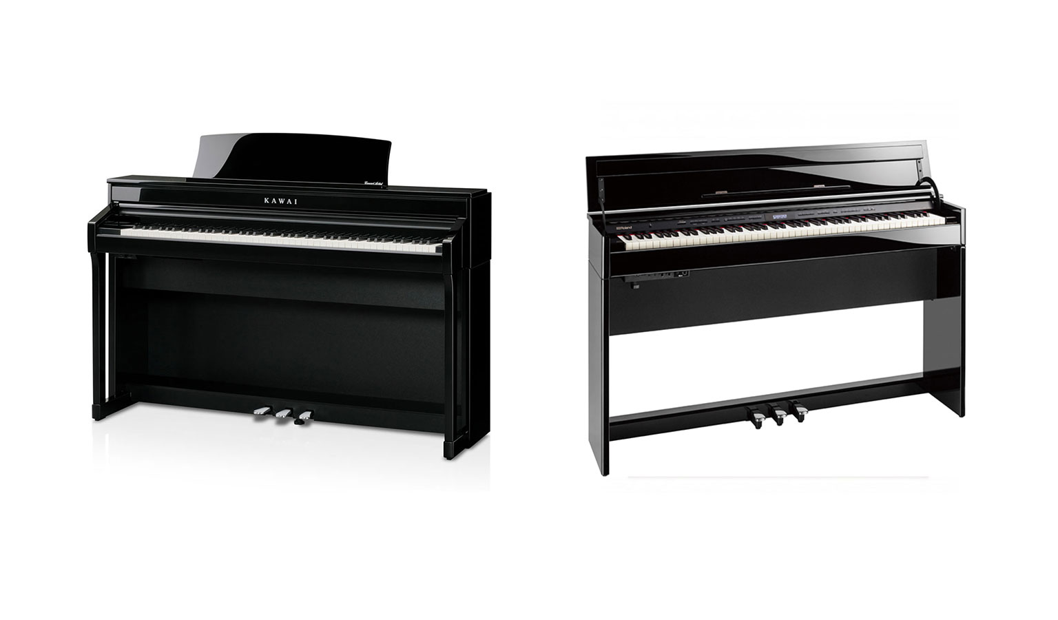 Kawai CA78 vs Roland DP603